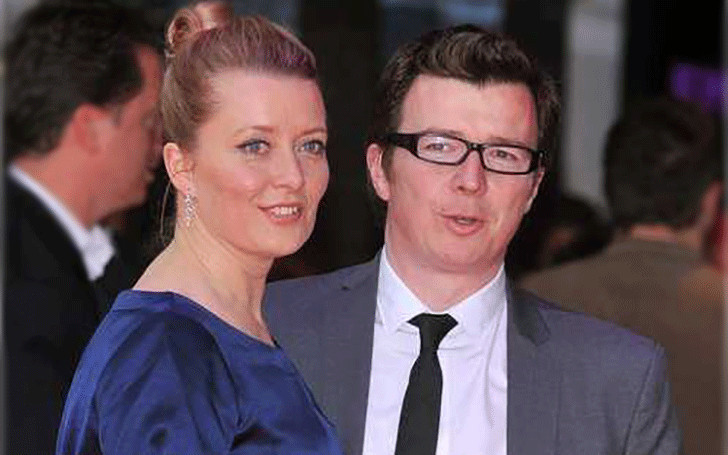 Rick Astley and his Wife Lene Bausager married since 2003.