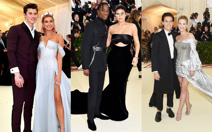 From Kylie Jenner And Travis Scott To Amy Schumer And Chris Fischer; Five New Couples Who Addressed Their On-Going Relationship In This Year' Met Gala