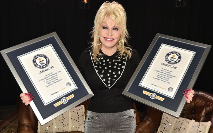 Singer Dolly Parton Awarded Two Guinness World Records