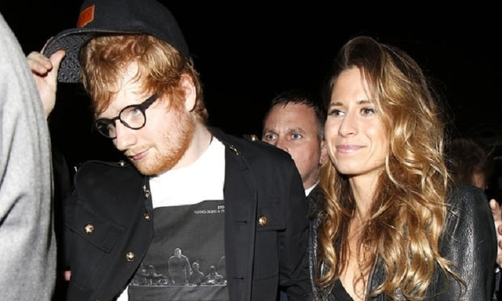 Singer Ed Sheeran Announced He's Engaged To His Childhood Friend Cherry Seaborn. Revealed That They Got Engaged Last Year Secretly, Congratulations To The Couple!