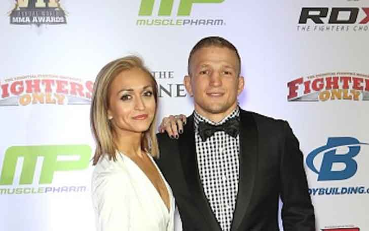 T.J. Dillashaw Is LIving Happily With His Wife Rebecca Dillashaw, Do They Have Children? Know about His Married Life