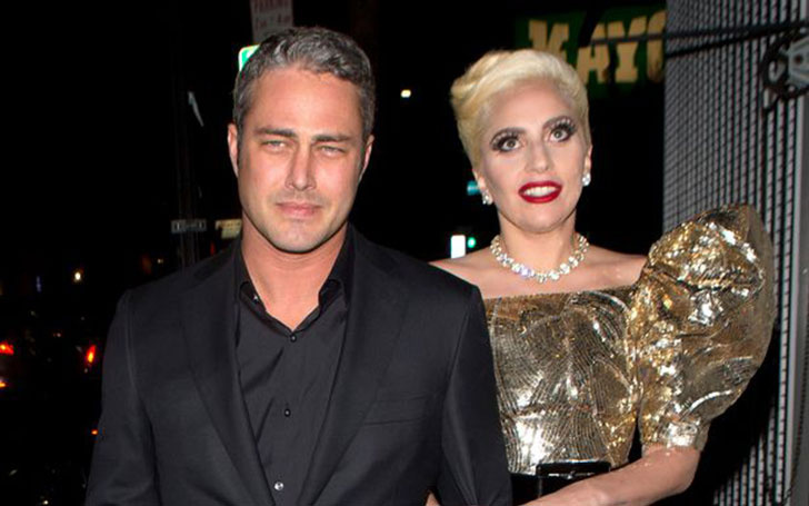Taylor Kinney cheered his ex-Girlfriend Lady Gaga during ...