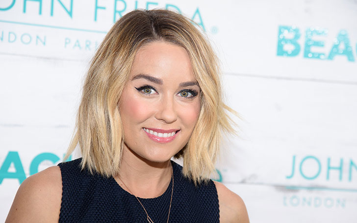 Television Personality Lauren Conrad Launched A New Line Of Summer Wears. Rocked a Beautiful Two-Piece Whilst Showing Her Baby Bump.