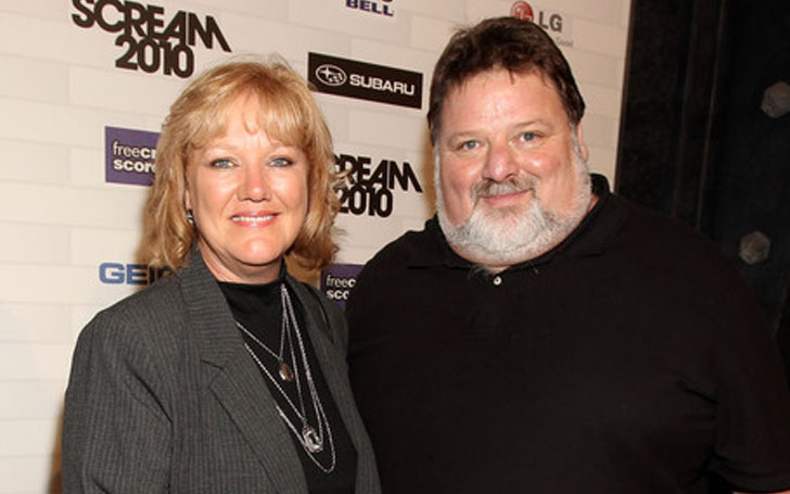 Happily married husband and wife: Phil Margera and April Margera