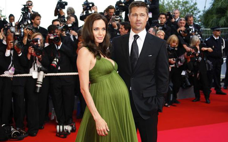 The Famous Ex-couple Brad Pitt & Angelina Jolie Seem to be burying the Hatchet and Making Peace