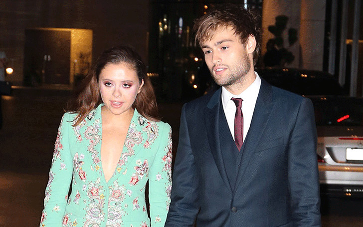 Who is douglas booth currently dating