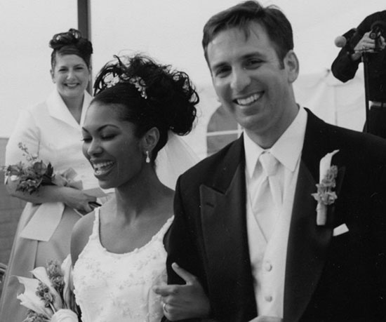 Harris Faulkner and Tony Berlin the wedding day