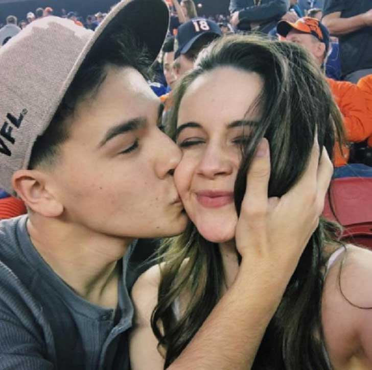 Bea Miller and Jacob Whitesides