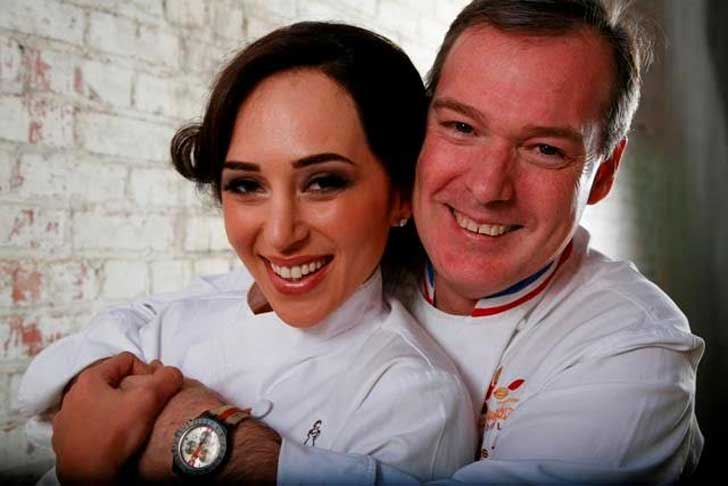Jacques Torres and his wife Hasty Torress
