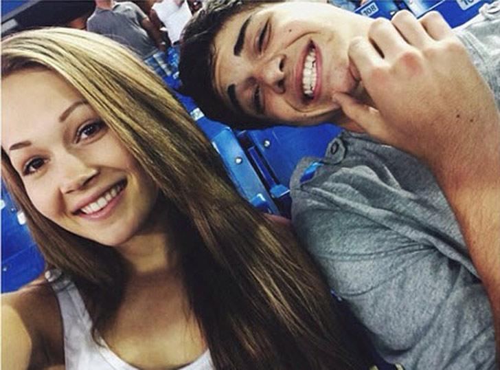 Kelli Berglund and Noah