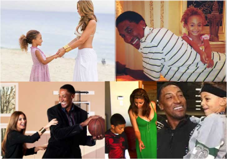 Larsa and Scottie Pippen have fun time with their family