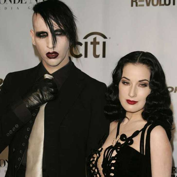 Marilyn Manson Ft Dita Von Teese - Para - Noir (music Video)