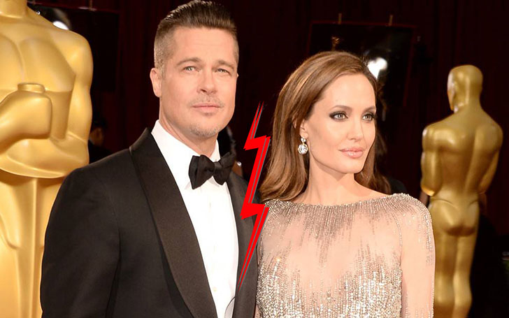 Angelina Jolie files for divorce from long term partner Brad Pitt. They married in 2014.