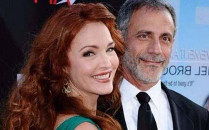Is Amy Yasbeck happy with Michael Plonsker after her husband John Ritter died in 2003?