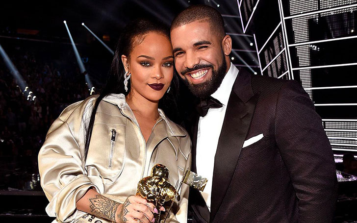 Are Rihanna and Drake Engaged? The girlfriend and boyfriend make waves as RiRi flashes diamond ring