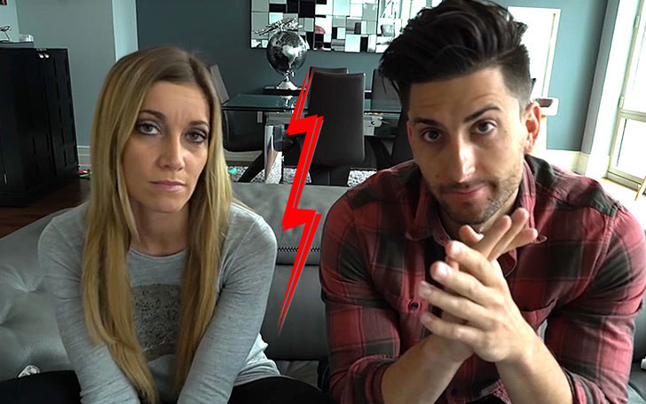 YouTube stars Jesse Wellens and Jeana Smith getting divorce as the couple lament the split