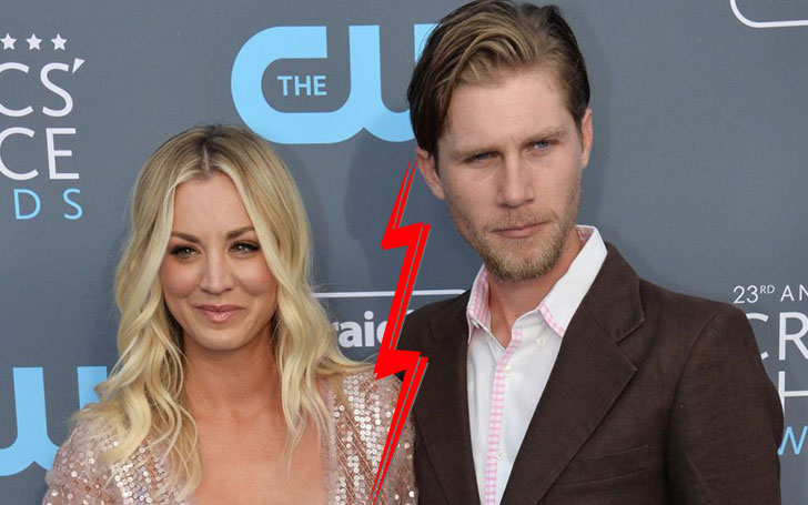 Kaley Cuoco getting divorce with Ryan Sweeting