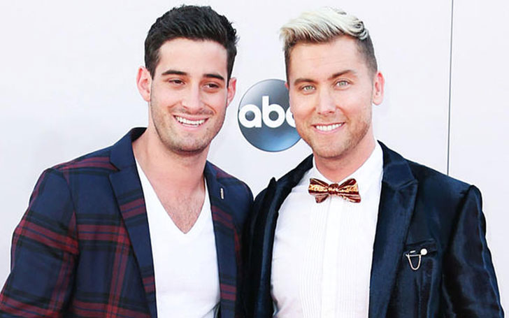 Michael Turchin and Lance Bass's married life