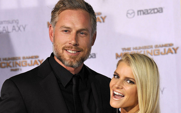 How is Jessica Simpson and Eric Johnson's marred life?