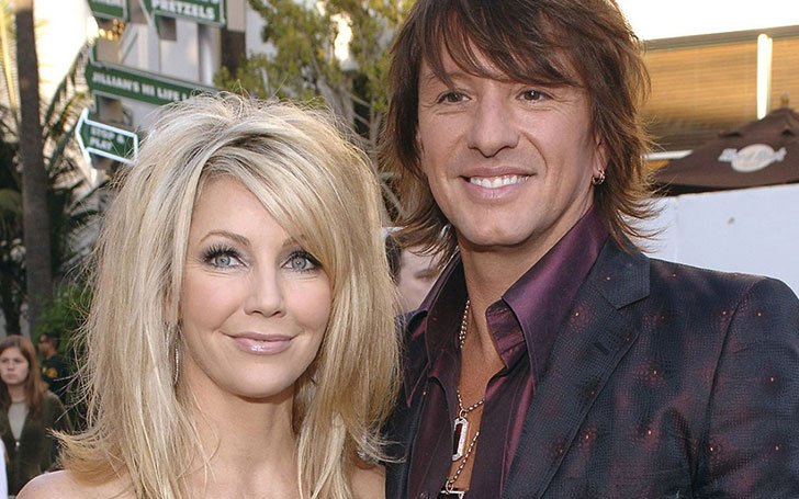 Heather Locklear and ex-husband Richie Sambora goes for a vacation