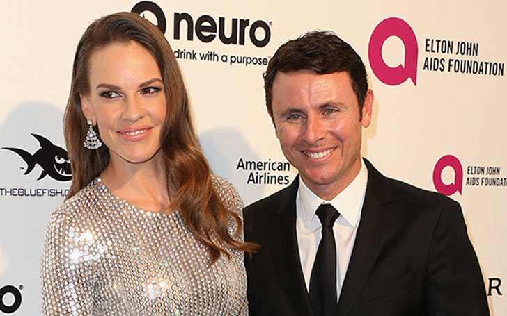 Hilary Swank confirms engagement with fianc� Ruben Torres