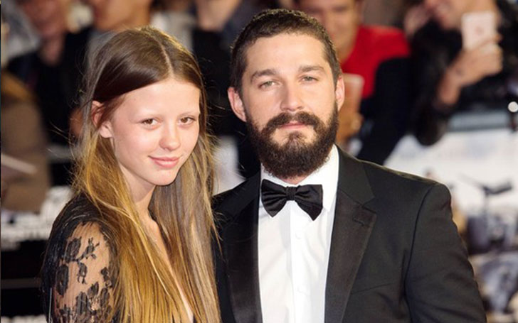 Shia LaBeouf and Mia Goth officially engaged