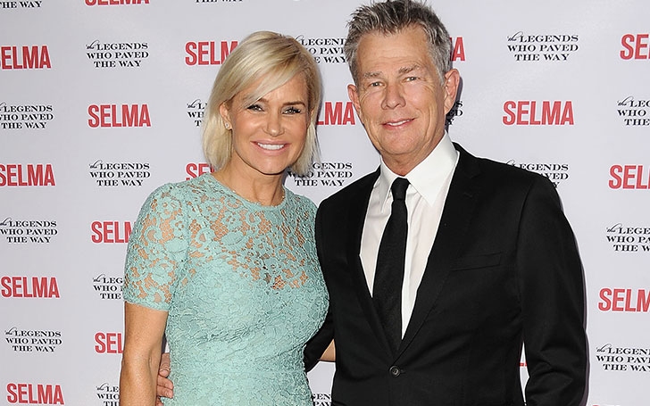 Yolanda Hadid blames Lyme disease for her divorce from her ex David Foster.