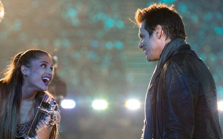 Ariana Grande' Crush Jim Carrey Just called her 'A Breath of Fresh Air'